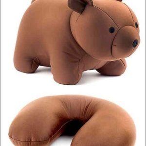 Accessories - travel pillow convertible stuffed bear